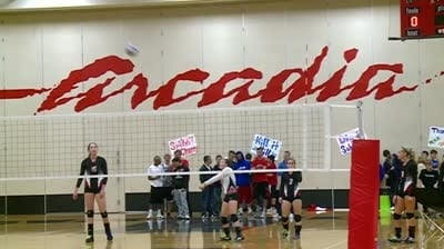 Arcadia volleyball meeting high expecations