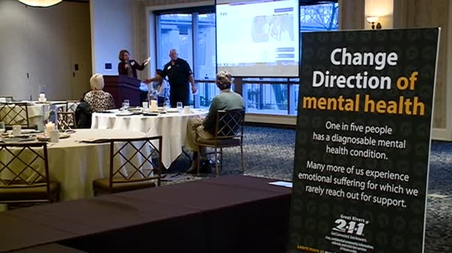 Local businesses helping 'change direction' of mental health