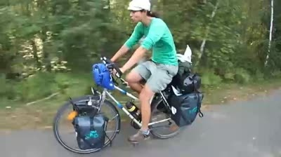 Bike ride across the globe aims to save the planet