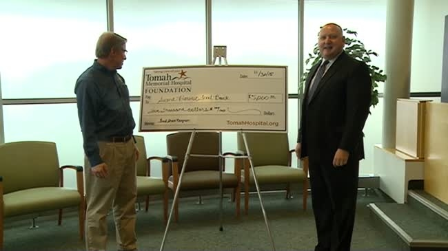 Annual donation helps Second Harvest Foodbank