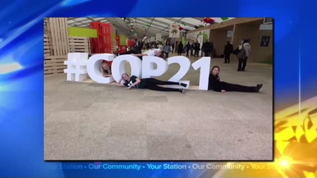 Former hospital CEO Invited to climate change convention in Paris
