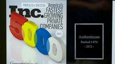 Authenticom makes Inc. Magazine's 5000 list