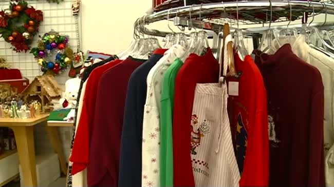 Christmas Boutique opens for the holiday season