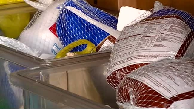 Holiday turkey drive helps families in need