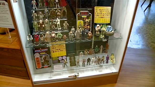 Wisconsin's largest Star Wars toy collection found in Sparta