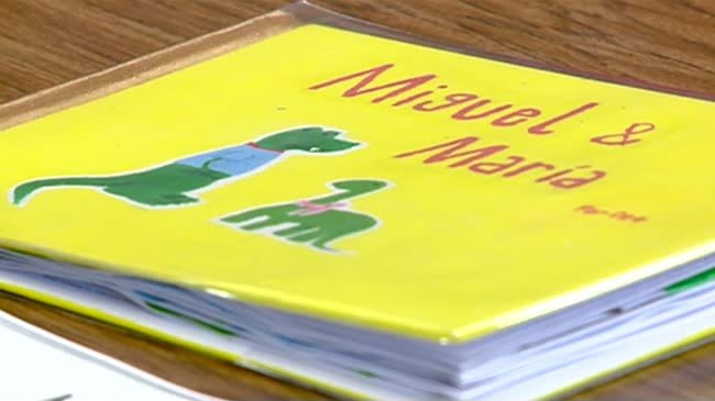 Area Spanish students donate books to children in Nicaragua
