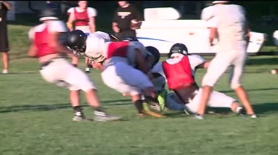 'Two-a-days': The 2015 Tomah Timberwolves