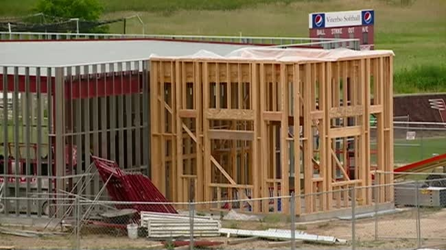 Viterbo working on phase two of construction on new athletic complex