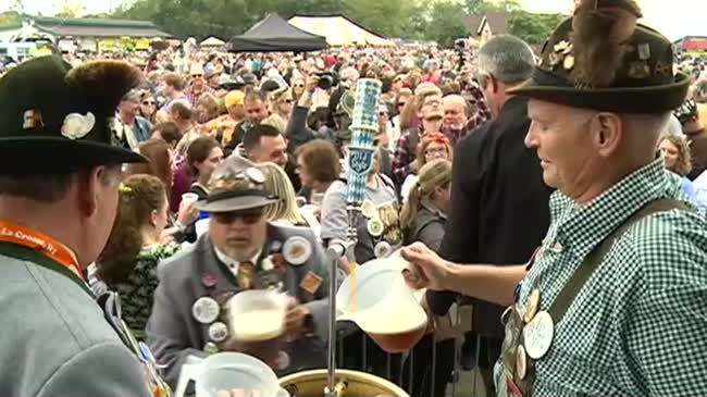 Oktoberfest calmer this year according to police numbers