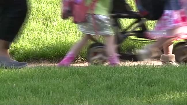 Emerson Elementary takes part in 'Wheel to School Week Challenge'