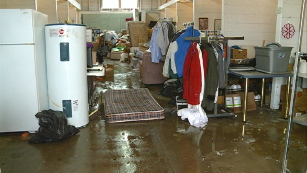 Countless donated items destroyed by flooding in Viroqua