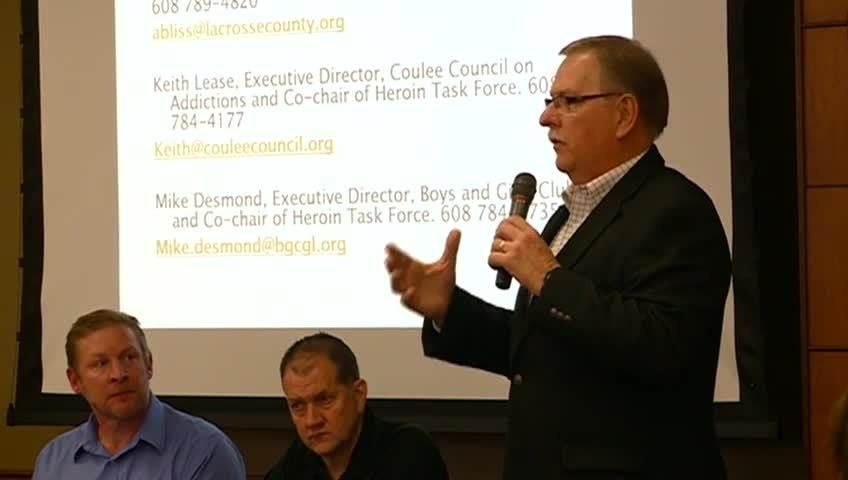 Illicit Drug Task Force discusses heroin, opiates at Viterbo