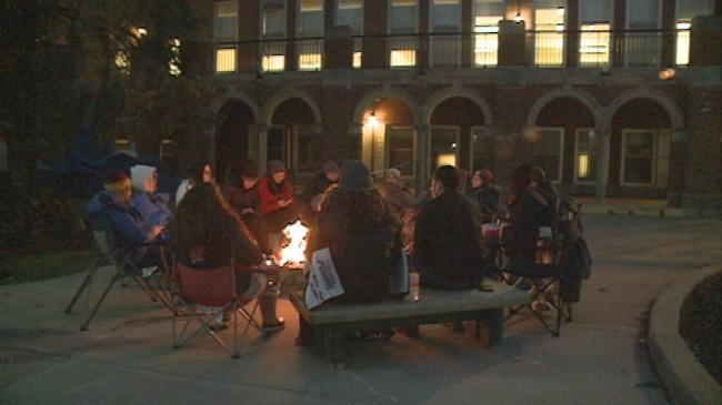 Viterbo students spend one night homeless