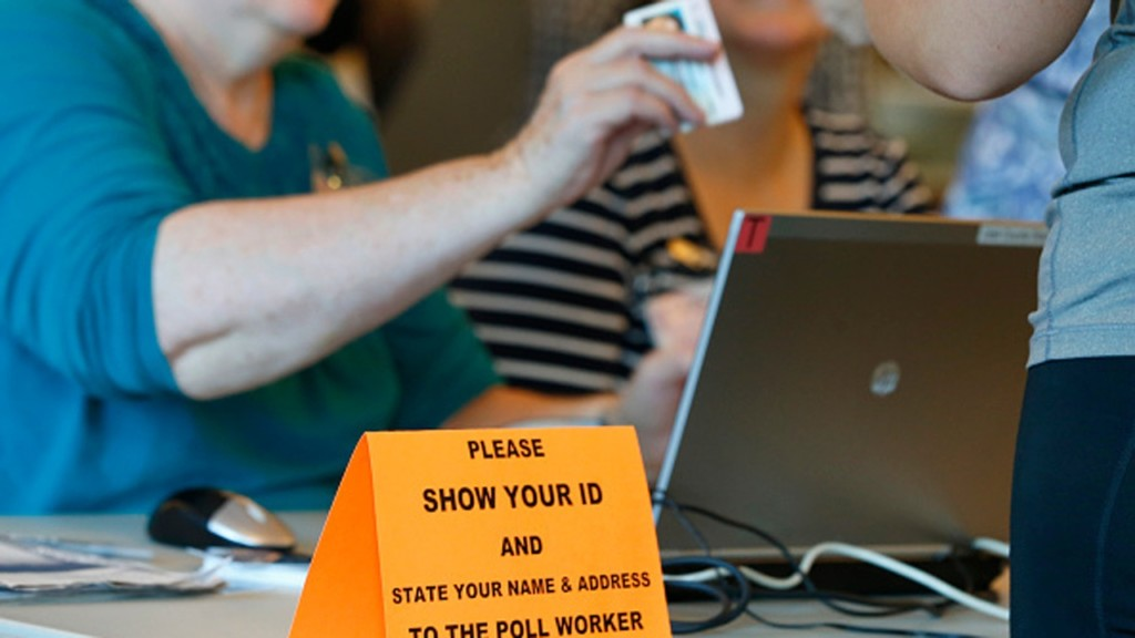 Iowa primary marks statewide test for new voter ID law