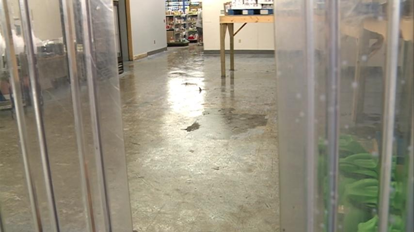 WAFER Food Pantry floods in storm