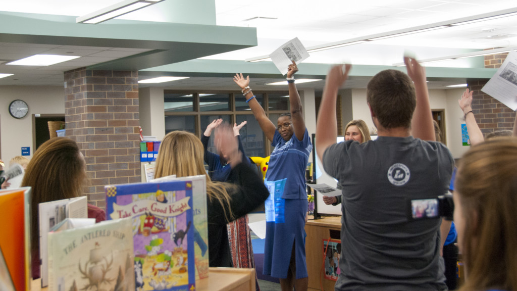Northern Hills Elementary hosts first W.A.K.E. event