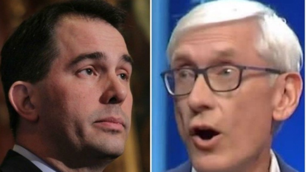 Evers, Walker trade hits on education, taxes in new ads