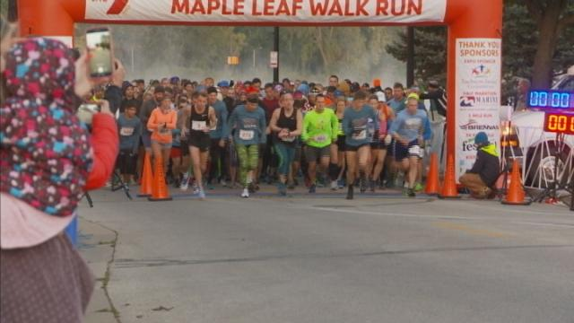 YMCA Maple Leaf Walk Run warms up pavement for parade