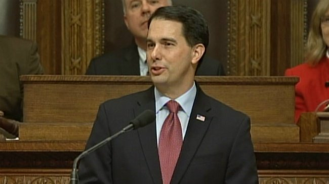 Walker proposes state budget with tax cut, school choice expansion