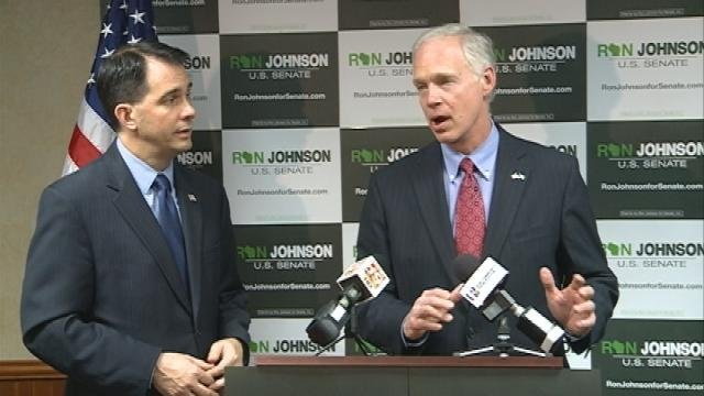 Gov. Walker and Sen. Ron Johnson campaign in La Crosse Saturday