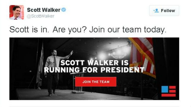 False start for Walker after premature Twitter announcement
