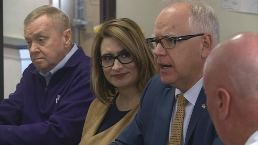 Governor Walz visit Winona as part statewide tour