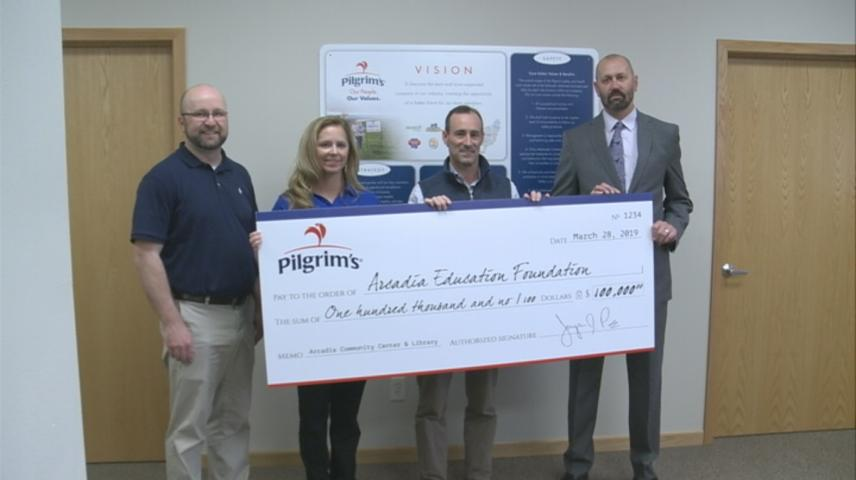 Donation to benefit Wanek Center construction in Arcadia