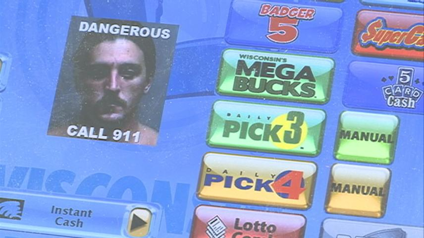 Wisconsin Lottery alerts local retail clerks about manhunt suspect
