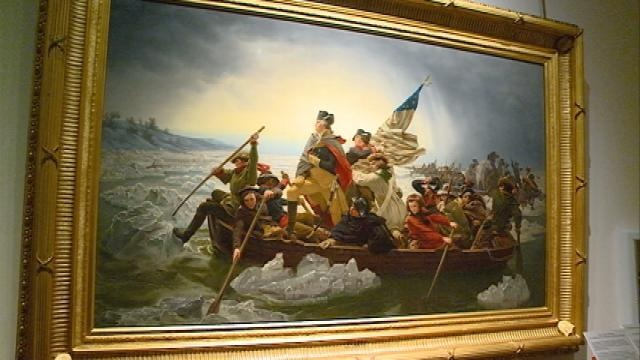 'Washington Crossing The Delaware' art piece on display at MMAM