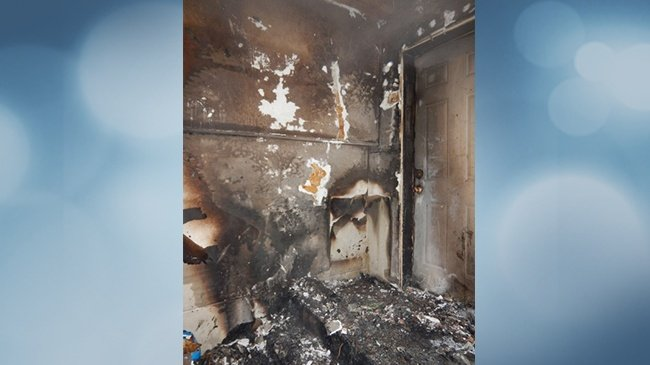 BRF family displaced after fire