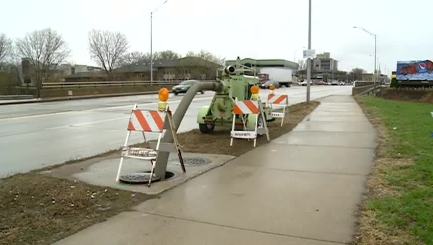 La Crosse using special water pumps to avoid flooding from rain
