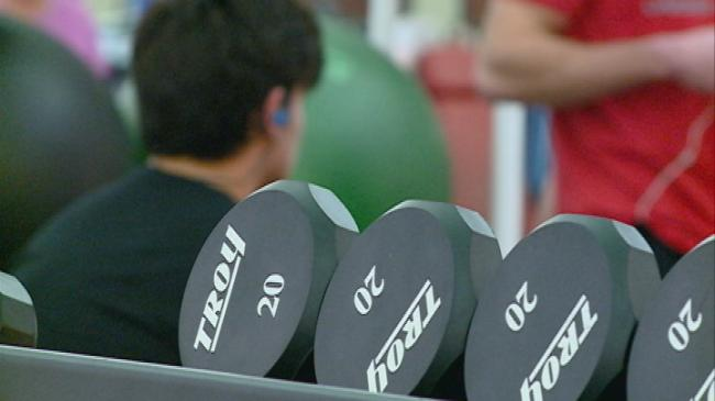 New Year's resolutions keeping local gyms busy