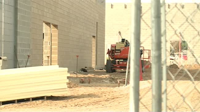 Middle school construction continues in West Salem as school year nears