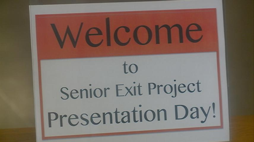 West Salem students present Senior Exit Projects