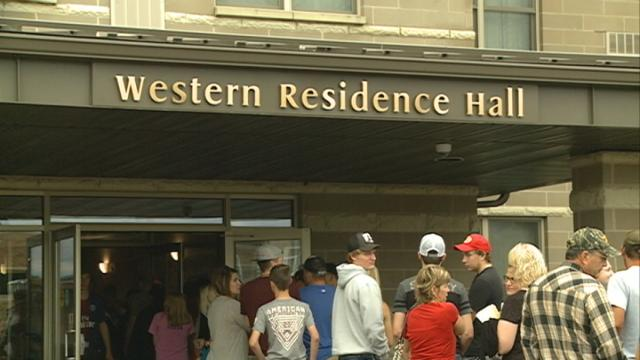 Move-in day at Western brings new students to their new homes