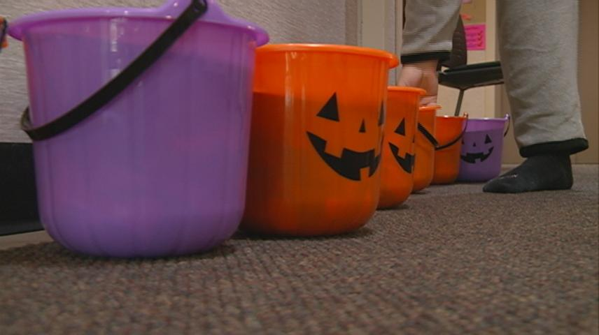 Kids celebrate Halloween a night early at Western Technical College
