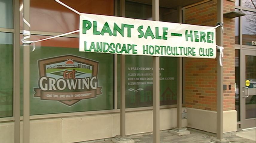 Annual plant sale held at Western Technical College