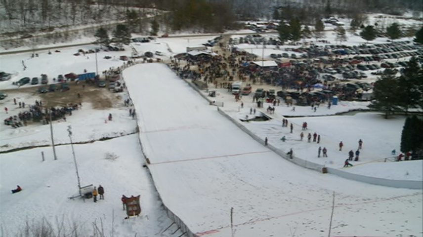 Westby Ski Jump gets perfect weather for event