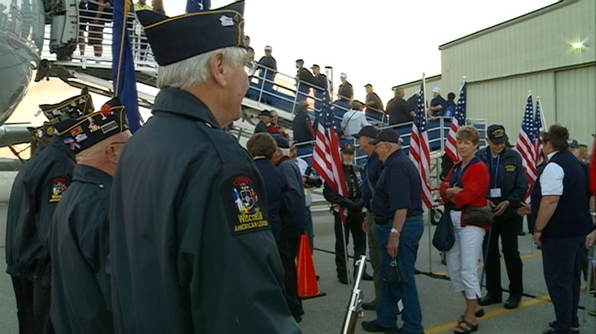 Freedom Honor Flight takes off
