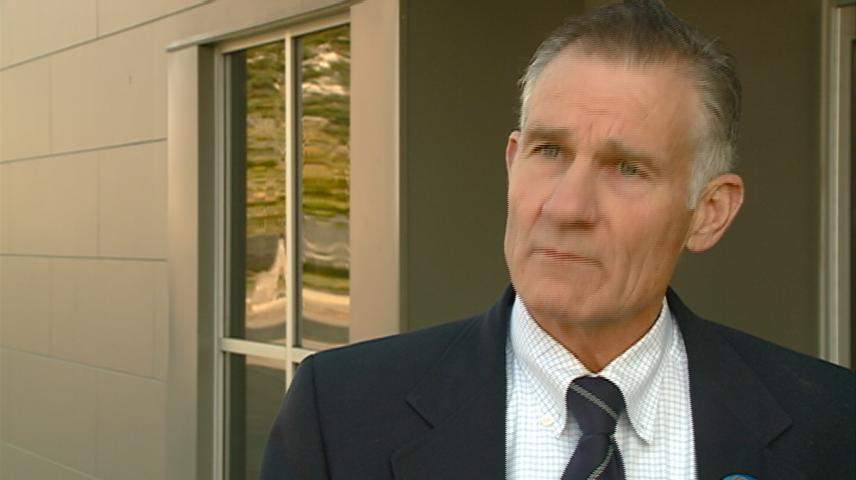 Democrat Paul Buhr campaigns in La Crosse for WI's 96th Assembly seat