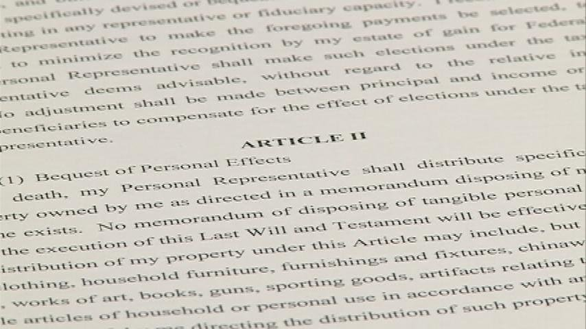Experts stress importance of drafting a will