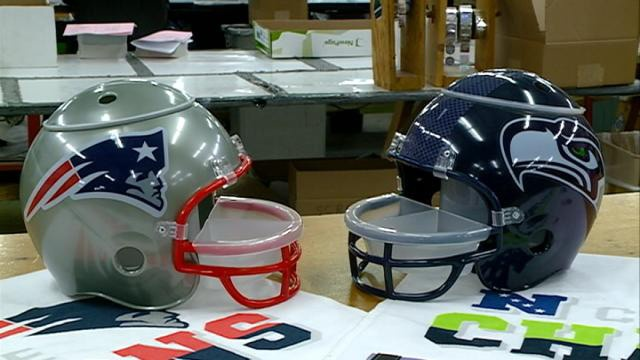 Wincraft in Winona busy making Super Bowl XLIX items