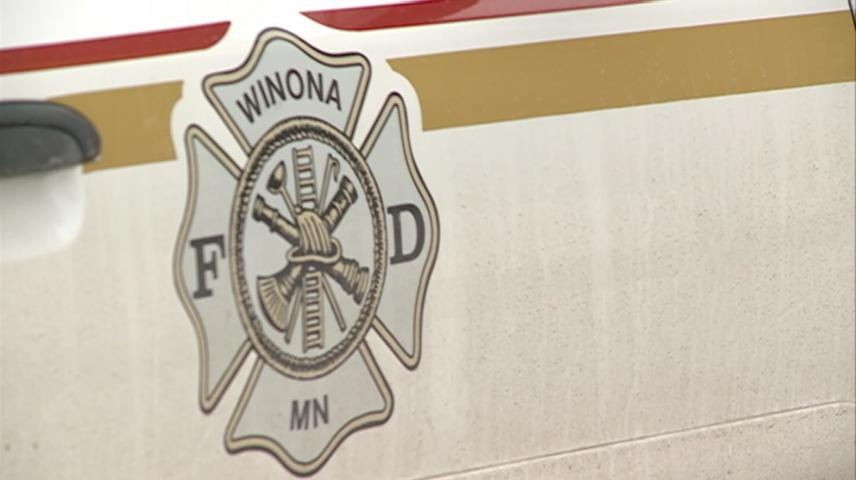 Winona emergency crews respond to fire quickly after seeing smoke from garage