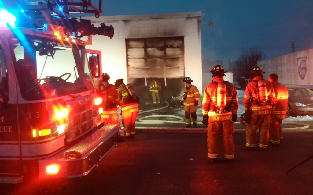 Fire damages a Winona business Sunday afternoon