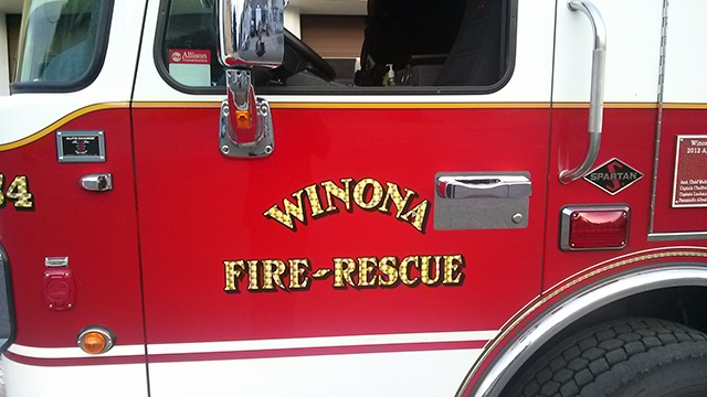 Roof collapses at Winona equipment company
