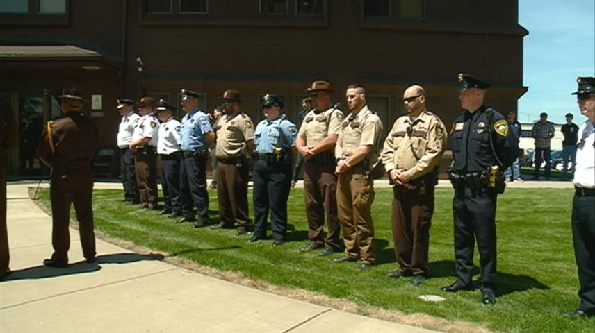 Fallen officers honored at memorial service in Winona