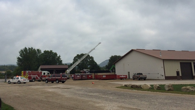 Fire reported at Winona recycling facility