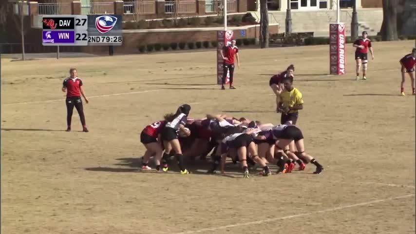 Winona State women's rugby wins national championship
