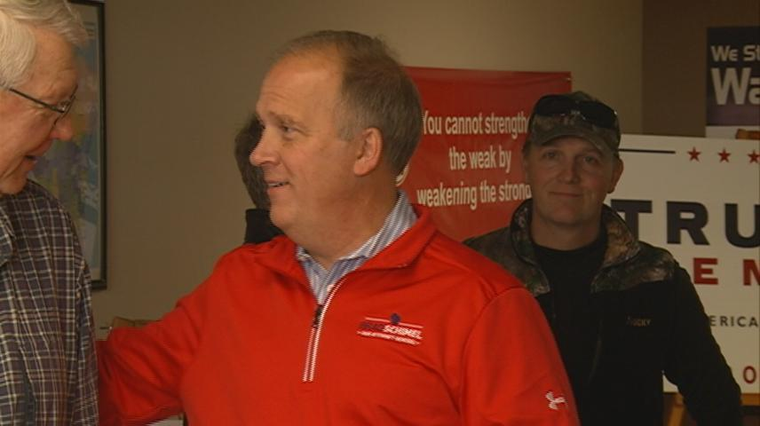 Wisconsin A.G. Schimel visits Sparta, comments on record high prison population