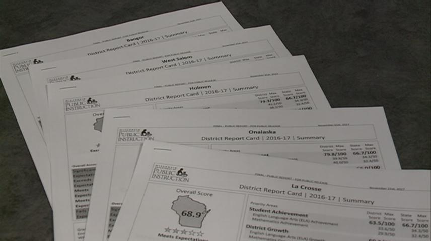 Wisconsin report cards now available for school districts